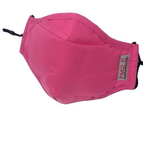 Nurseology Accessories - Bright Pink Face Mask with Filter